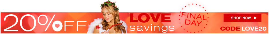 Love Savings 20% Off