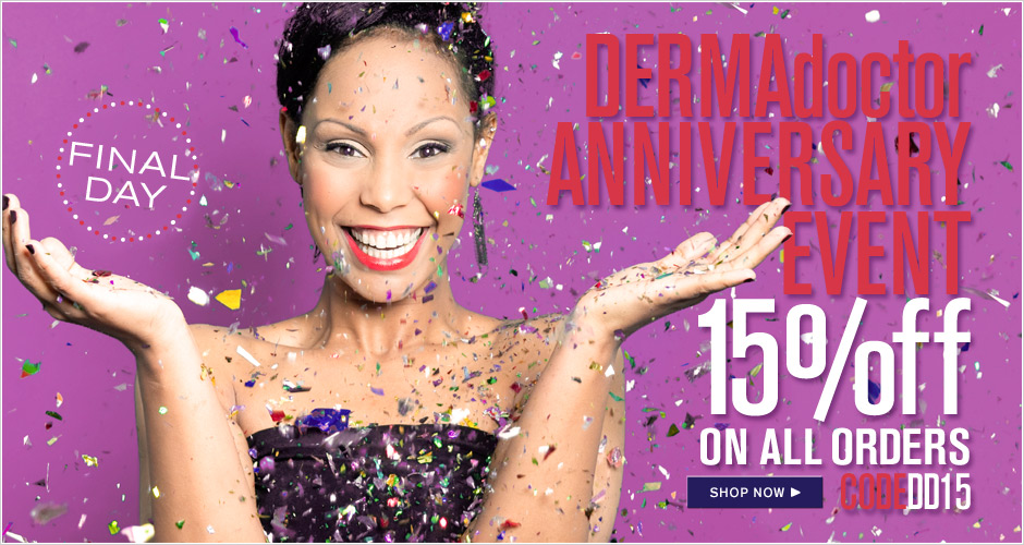 15% Off Anniversary Sale