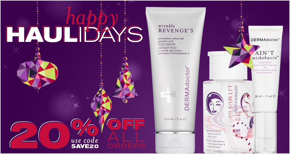 20% Off Happy HAULidays