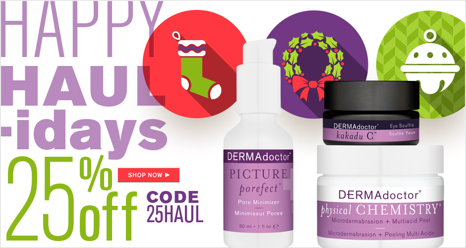 25% Off Happy HAULidays
