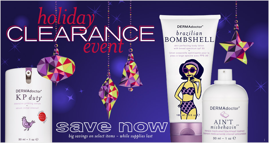Holiday Clearance Event