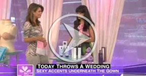 Today Show: InStyle Weddings feature on MED e TATE