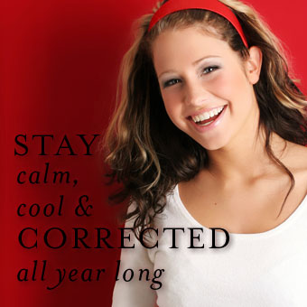 Stay Calm Cool and Corrected All Year Long