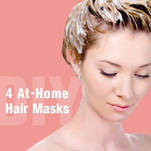 DIY: 4 At-Home Hair Masks