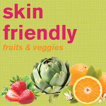 Skin Friendly Fruits and Veggies