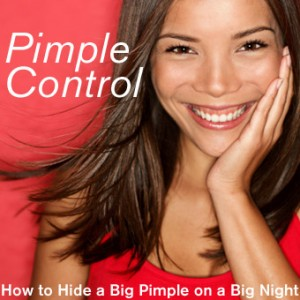 Pimple Control – How to Hide a Big Pimple on a Big Night Out