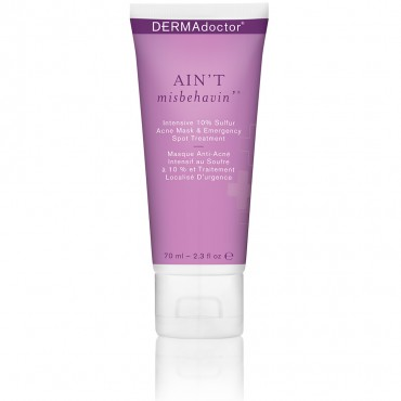Ain't Misbehavin' intensive skin-correcting sulfur acne mask with phytosphingosine