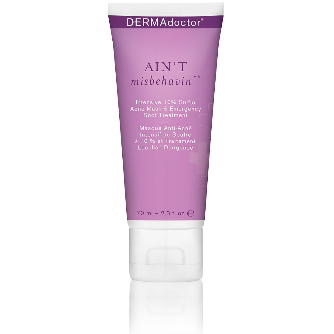 Aint Misbehavin Intensive Skin Clarifying Sulfur Acne Mask 2.3oz Gerard Cosmetics Slay All Day Setting Spray Lemongrass