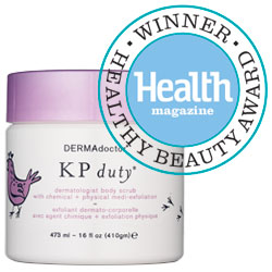 Health magazine Award - KP Scrub