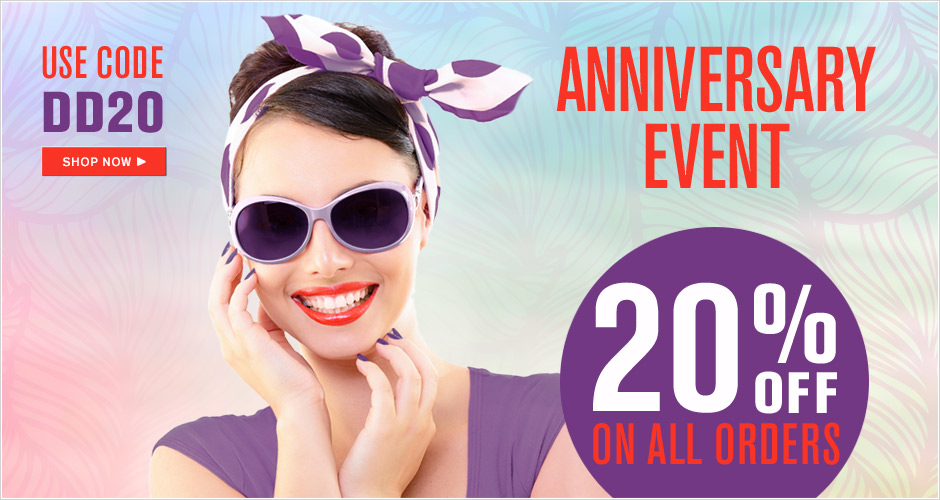 DERMAdoctor Anniversary Event Save 20%