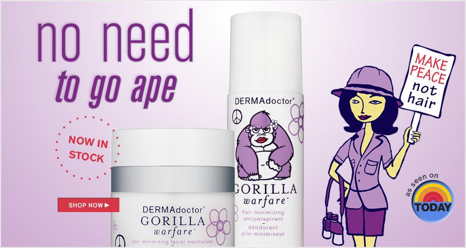 Gorilla Warfare hair minimizing
