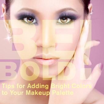 Adding Bright Makeup