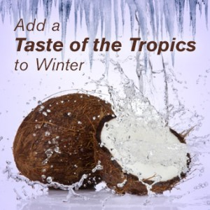 Add a Taste of the Tropics to Winter  - 5 Uses for Coconut Oil