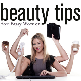 Beauty Tips for Busy Women - DERMAdoctor Blog ...